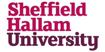 Sheffield Hallam University. logo